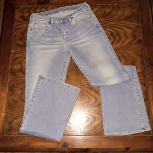 Vtg Diesel Industry Light Wash MOM Jeans sz. 31x32